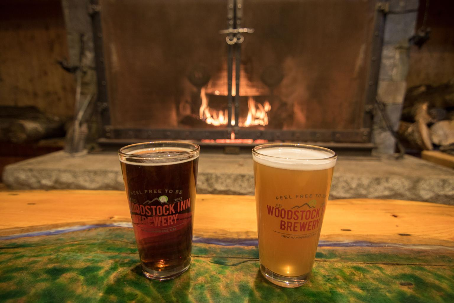 Woodstock Inn Brewery - Pints