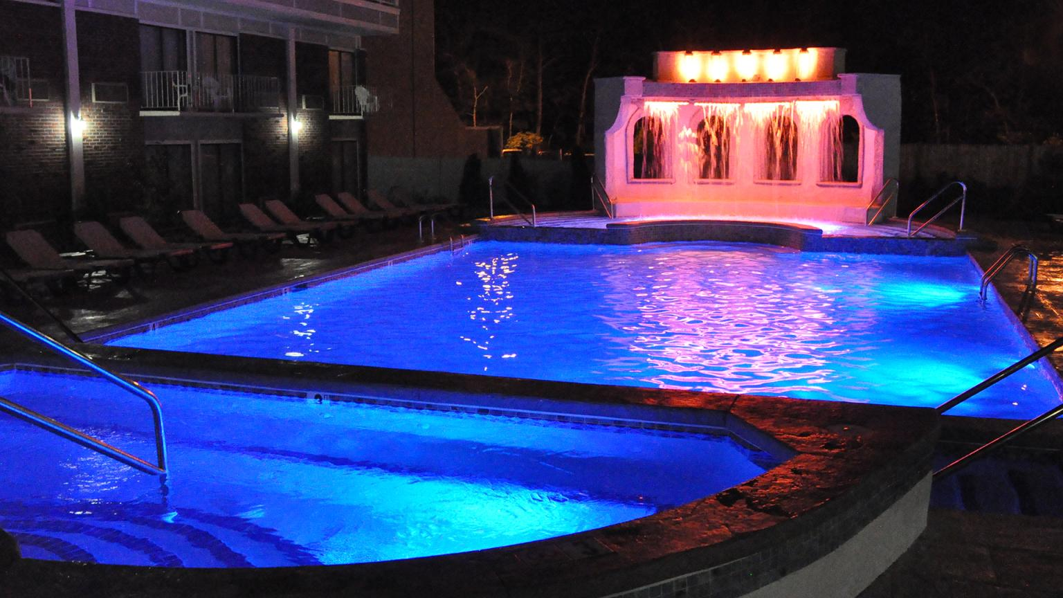 Cape Codder Rainbow Falls Heated Outdoor Pool