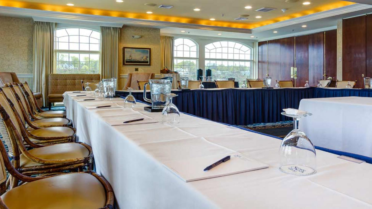 Stage Neck Inn offers three venues for meetings. Each offers great views.