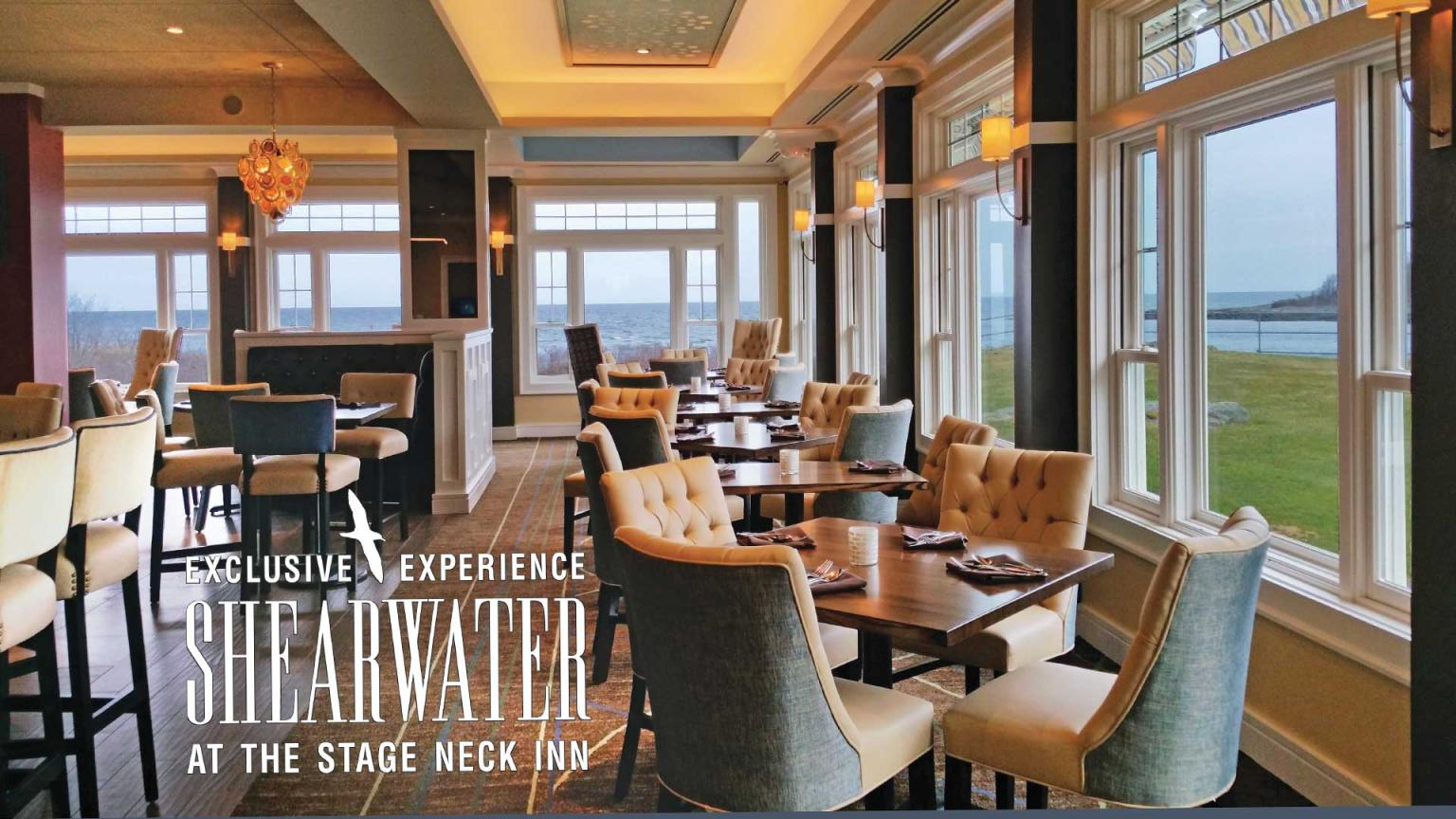 overview of Shearwater at Stage Neck Inn