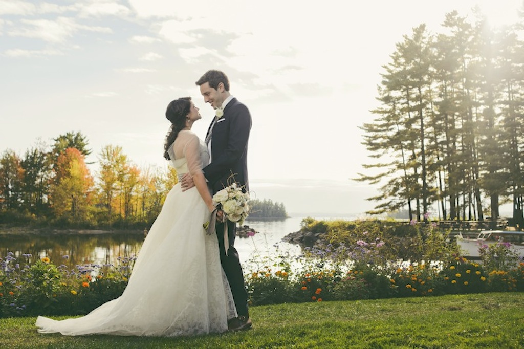 Maine Wedding Venue on Sebago Lake at Migis Lodge