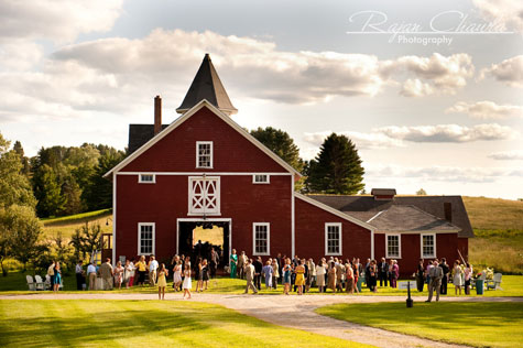 Rustic Vermont Barn Wedding
