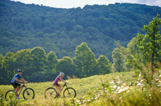 Vermont Mountain Biking in Woodstock