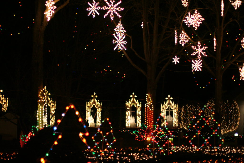 Christmas Lights in New England