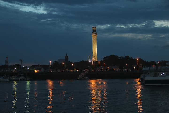 Pilgrim Monument in Provincetown, Mass.